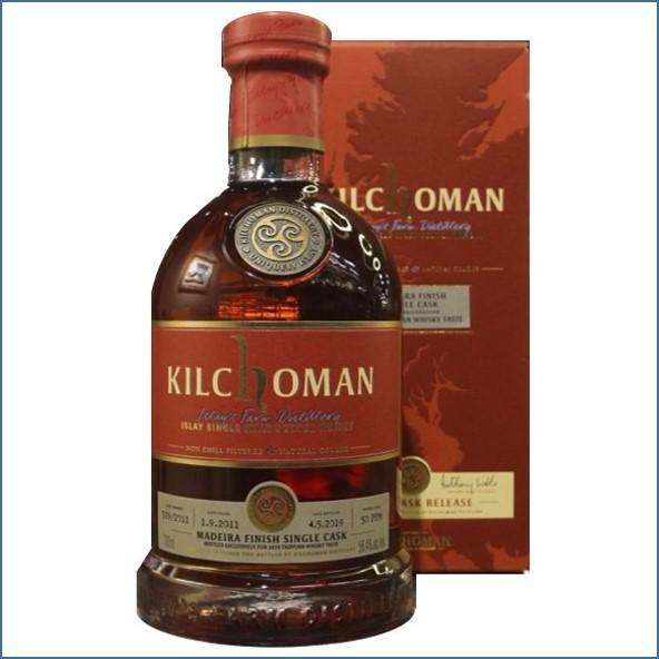 Kilchoman 2019 Madeira Finish Single Cask  Whisky TASTE 2011 70cl 56.4%