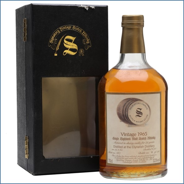 Clynelish 1965 29 Year Old Sherry Cask #667 Signatory 70cl 52.1%