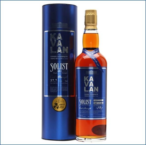 Kavalan Solist Vinho Barrique Cask #121 (2009) Taiwanese Single Malt Whisky 70cl 57.7%