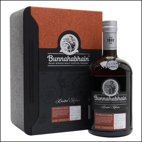 Bunnahabhain Moine 1997 22 Year Old PX Sherry Cask 70cl 50%