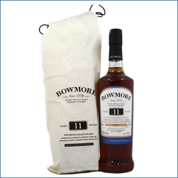 Bowmore 11 Year Old Feis Ile Collection 2017 70cl 53.8%/波摩11年收購