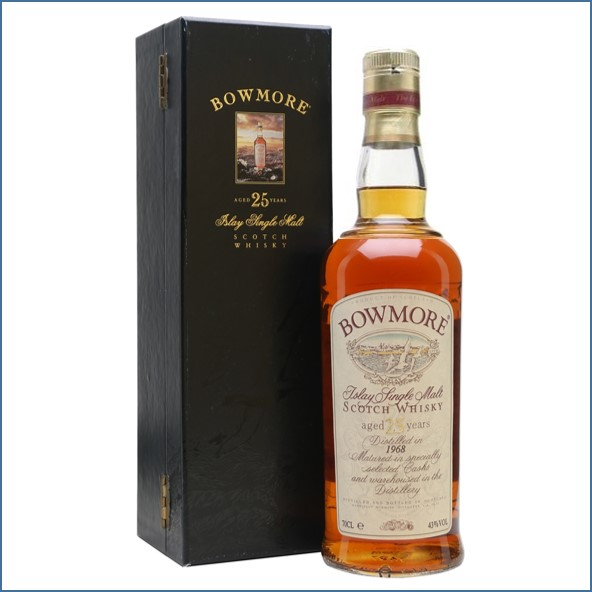 Bowmore 25 Year Old 1968 70cl 43%