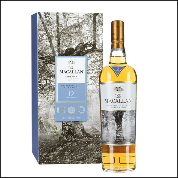 收購麥卡倫12年 Fine Oak/Macallan Fine Oak 12 Year Old 70cl 40%