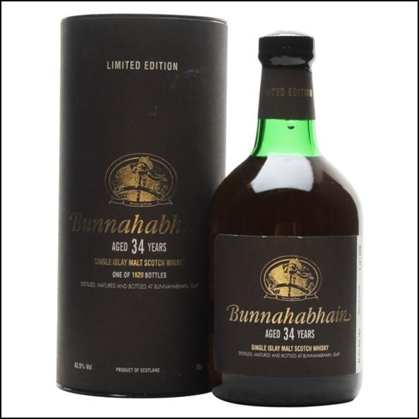 Bunnahabhain 34 Year Old 70cl 43.5%