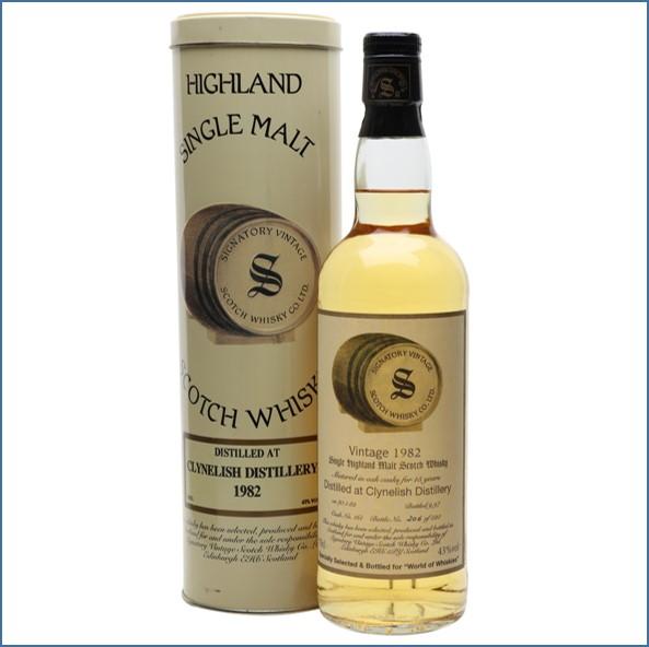 Clynelish 1982 15 Year Old Signatory Highland Single Malt Scotch Whisky 70cl 43%