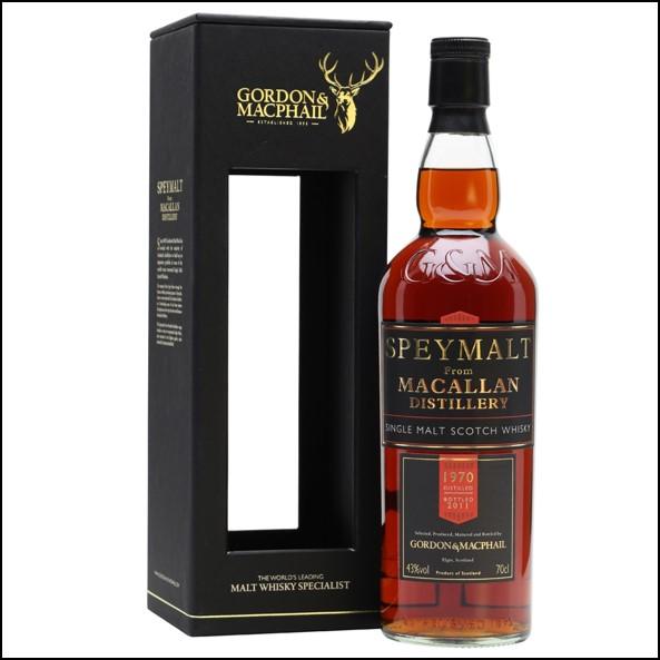 Macallan 41 Year Old -1970 Bot.2011 Speymalt Gordon & MacPhail Speyside Single Malt Scotch Whisky 70cl 43%