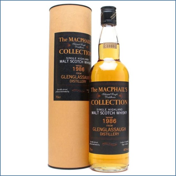 Glenglassaugh 1986-2000 Highland Single Malt Scotch Whisky Gordon & MacPhail 70cl 40%