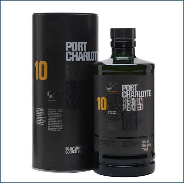 布萊迪收購 Port Charlotte 10 Year Old 70cl 50%1