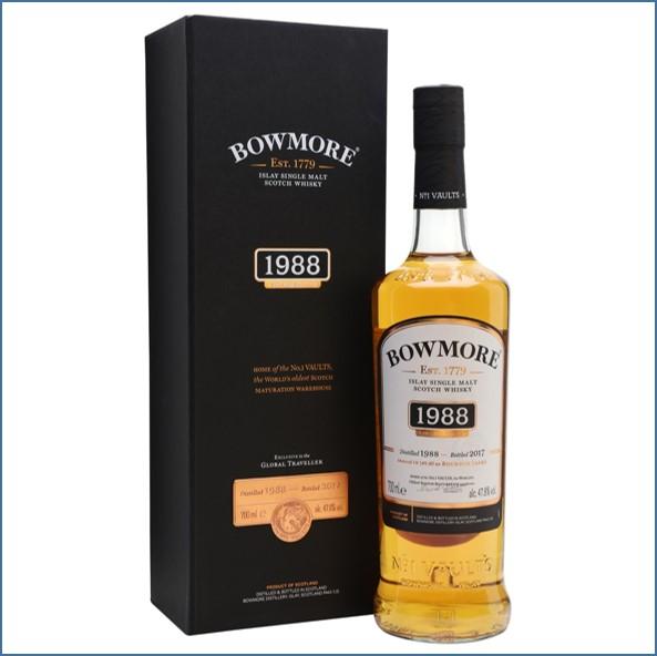 Bowmore 29 Year Old 1988 Bot.2017 1st Fill Ex-Bourbon Casks 70cl 47.8%
