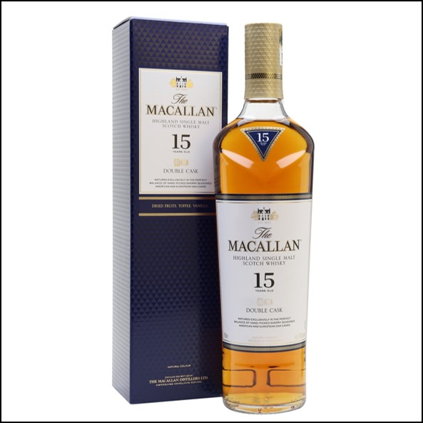 Macallan 15 Year Old Double Cask 70cl 43%