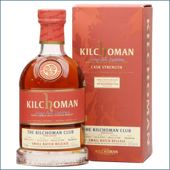 Kilchoman 2014 4 Year Old Small Batch Release 2010 3rd Edition 70cl 58.4%