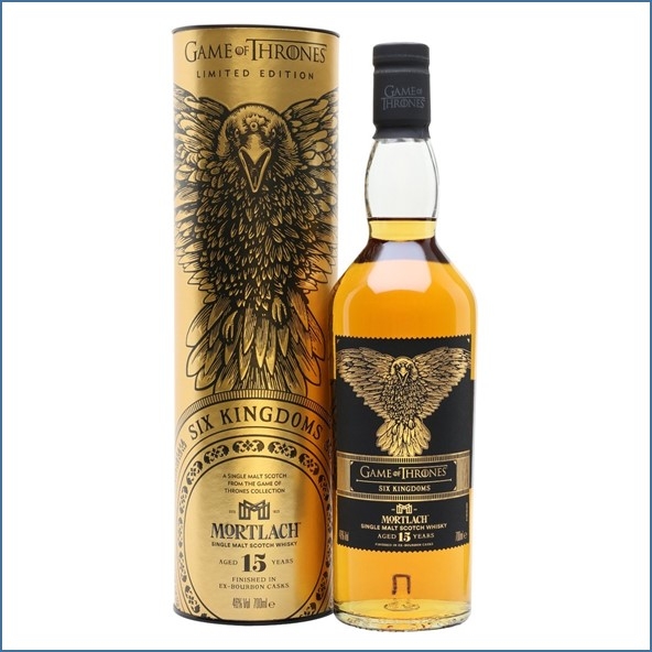 Mortlach 15 Year Old Game of Thrones Six Kingdoms 70cl 46%