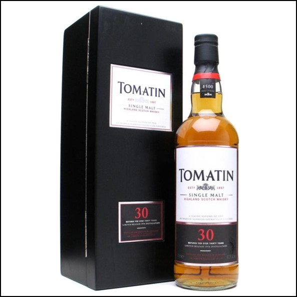Tomatin 1976 30 Year Old Oloroso Sherry Finish 70cl 49.3%