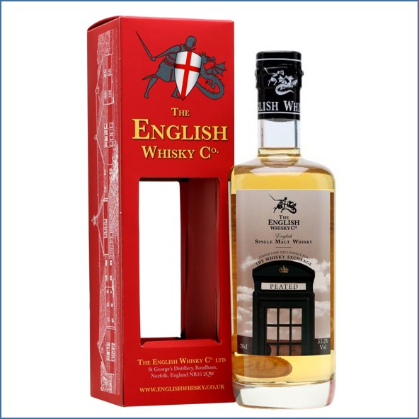 The English Whisky Co. Peated TWE Exclusive 70cl 55.2%