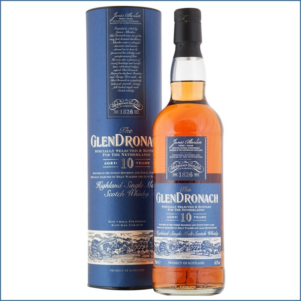 Glendronach 10 Year Old Netherlands Bottling 70cl 46%