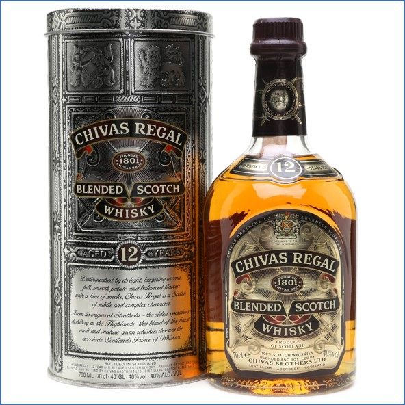 Chivas Regal 12 Year Old Bottled 1990s 70cl 43%