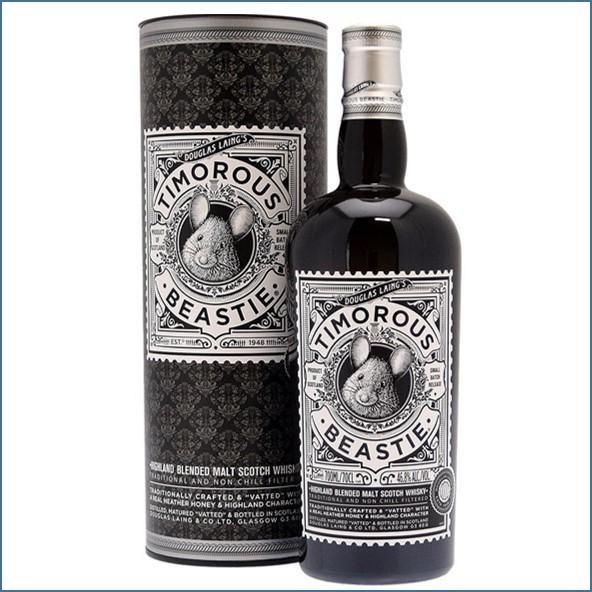 Timorous Beastie Highland Blended Malt Scotch Whisky 70cl 46.8%