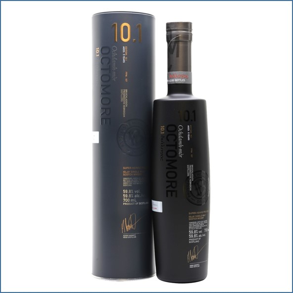 OCTOMORE 10.1 Edition  5 Year Old 75cl 59.8%