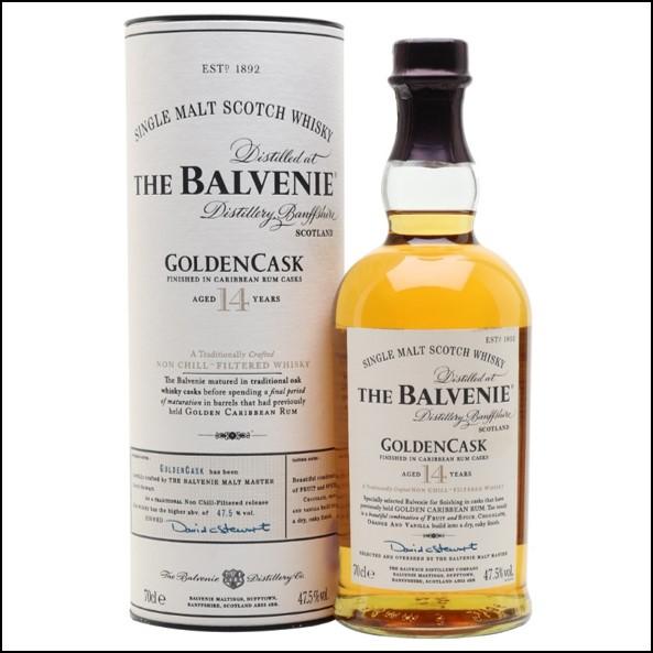 Balvenie 14 Year Old - Golden Cask Rum 70cl 47.5%