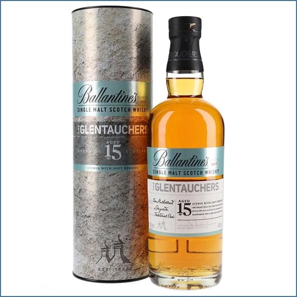 Ballantine's Glentauchers 15 Years Old Speyside Single Malt Scotch Whisky 70cl 40%