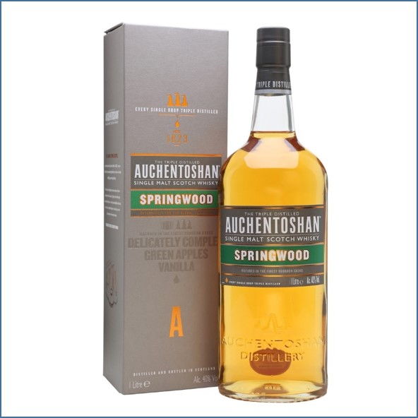 Auchentoshan Spring wood 100cl 40%