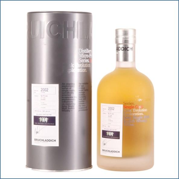 Bruichladdich 13 Year Old  Micro 2002 Provenance bourbon 70cl 52.7%