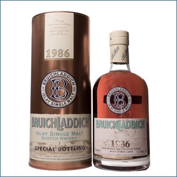 Bruichladdich 20 Year Old 1986 60th anniversary Pluznik 70cl 55.3%