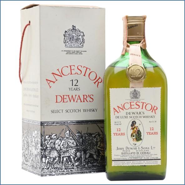 Dewar's Ancestor 12 Year Old Bot.1980s Blended Scotch Whisky 75cl 43%