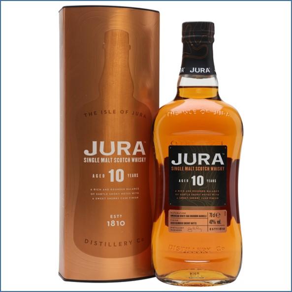 Jura 10 Year Old Island Single Malt Scotch Whisky 70cl 40%