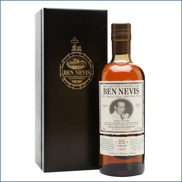 Ben Nevis 25 Year Old 1990 Mr Taketsuru's Single Cask 70cl 61.3%