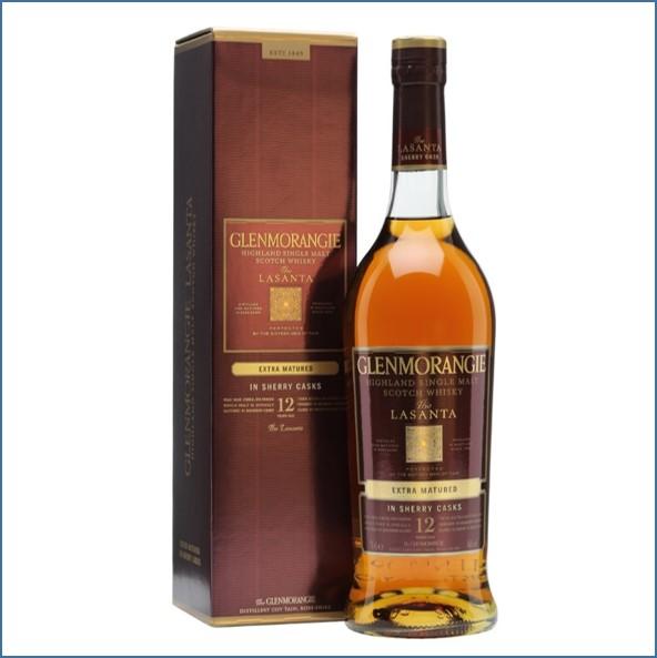 Glenmorangie 12 Year Old Lasanta Oloroso Sherry Finish 70cl 46%