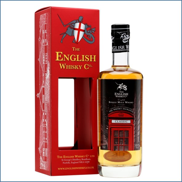 The English Whisky Co. Classic TWE Exclusive 70cl 53.4%