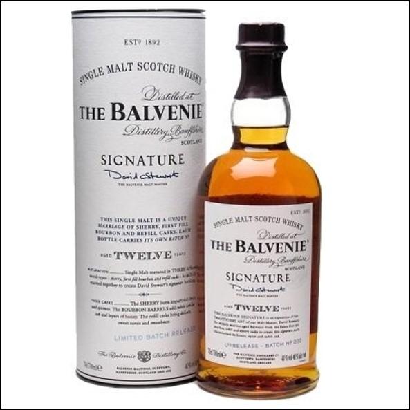 Balvenie 12 Year Old Signature 70cl 40%