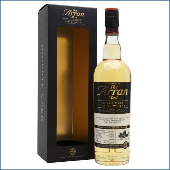Arran 5 Year Old 2011 Whisky Agency 70cl 52.1%