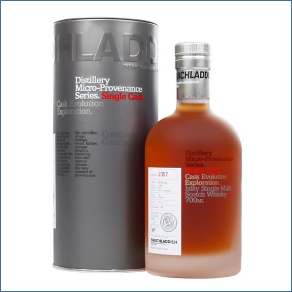 Bruichladdich 10 Year Old  Micro 2007 Provenance   bourbon 70cl 63.4%
