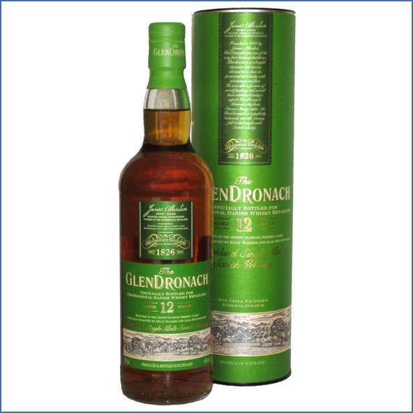 Glendronach 12 Year Old  Yoda Danish Exclusive 70cl 46%