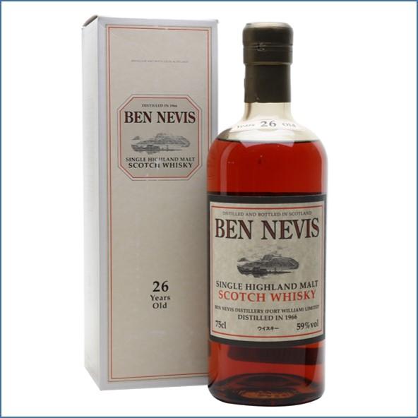 Ben Nevis 26 Year Old 1966 75cl 59%