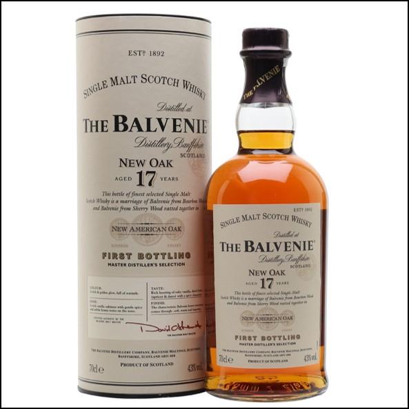 Balvenie 17 Year Old New Oak 70cl 43%