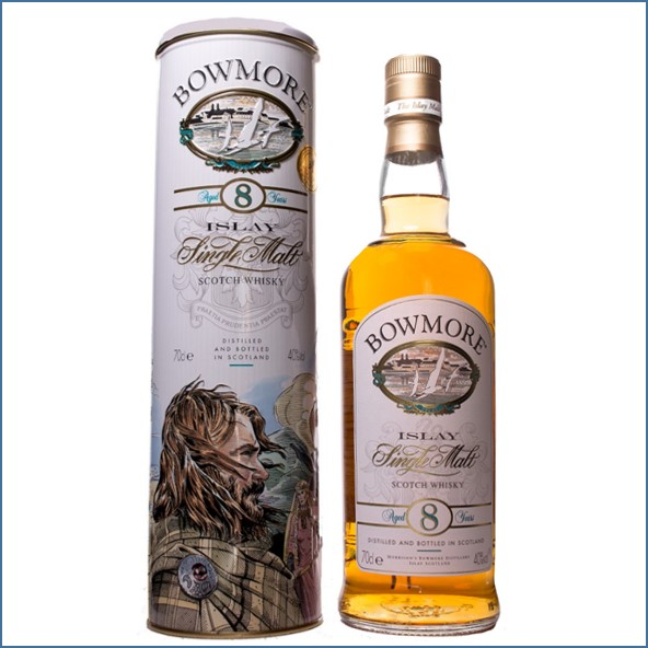Bowmore 8 Year Old The legend of the romance 70cl 40%