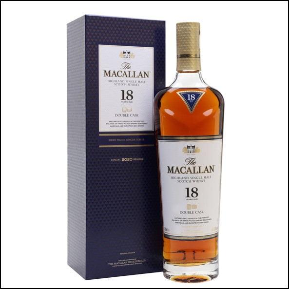Macallan 18 Year Old Double Cask 2020 Release 70cl 43%