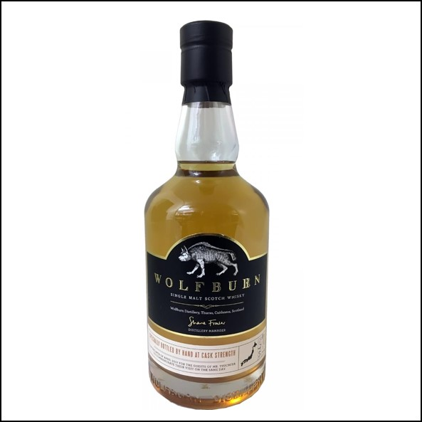 Wolfburn 3 years old Specially Bottled by Hand at Cask Strength 2017 70cl 59.4%