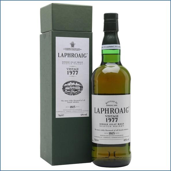 Laphroaig 18 Year Old 1977 Bot.1995 75cl 43%