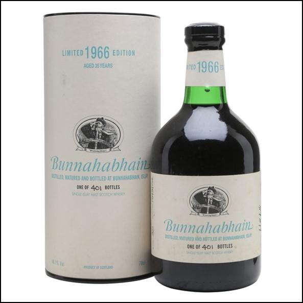 Bunnahabhain 1966 35 Year Old Sherry Cask 70cl 46.1%