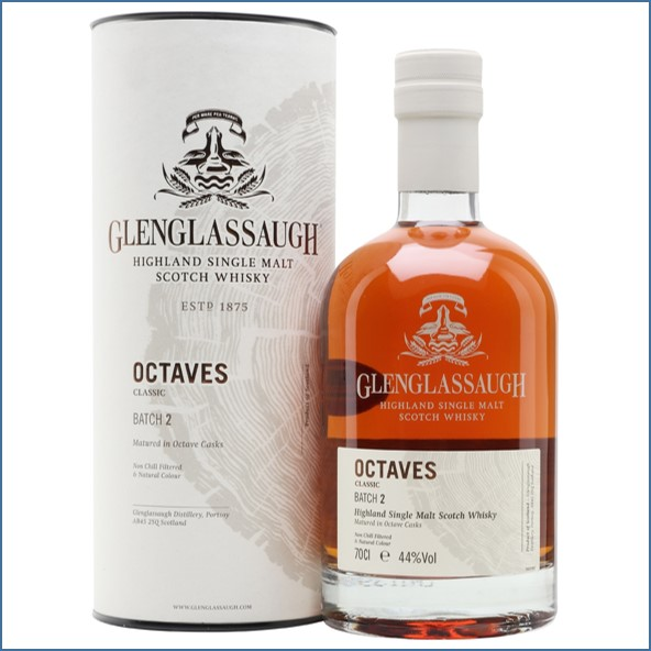 Glenglassaugh Octaves Classic Batch 2 Highland Single Malt Scotch Whisky 70cl 44%