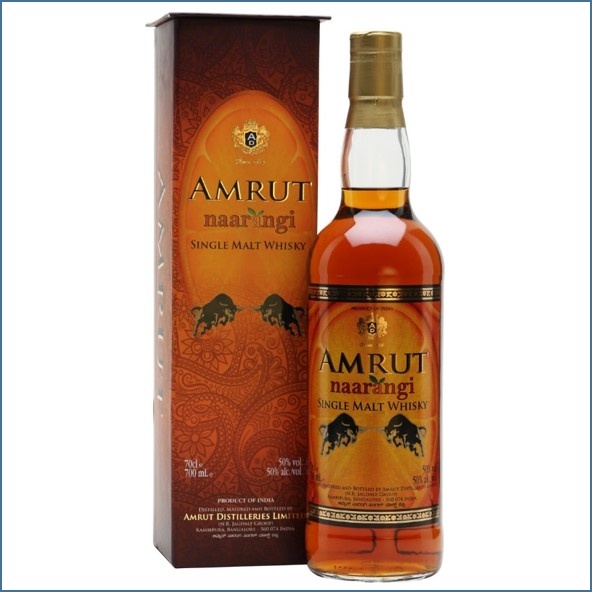Amrut Naarangi Indian Single Malt Whisky 70cl 50%