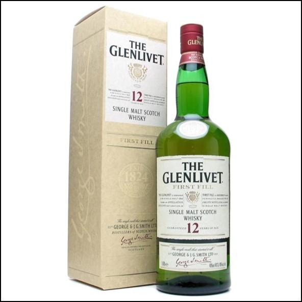 GLENLIVET 12 YEAR OLD  First Fill 100cl 40%