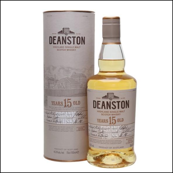 DEANSTON 15 YEAR OLD ORGANIC 70cl 46.3%汀斯頓 15年有機