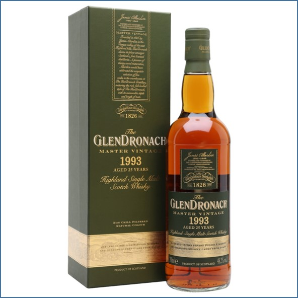 Glendronach 1993 25 Year Old Master Vintage 70cl 48.2%