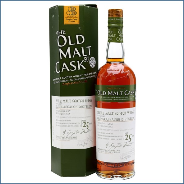 Glenglassaugh 1984 25 Years Old Sherry Cask Highland Single Malt Scotch Whisky Douglas Laing 70cl 50%