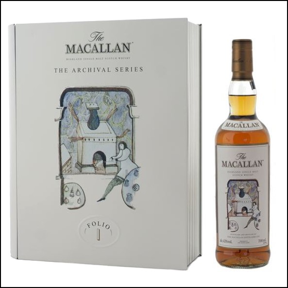 收購麥卡倫 書冊 1/ Macallan The Archival Series  Folio 1 70cl 40%